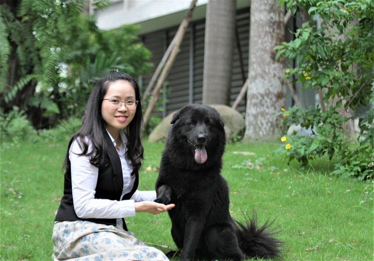 """Chiêm ngưỡng chú chó Bắc Hà có giá chuyển nhượng """"khủng"""" nhất Việt Nam - 1"""