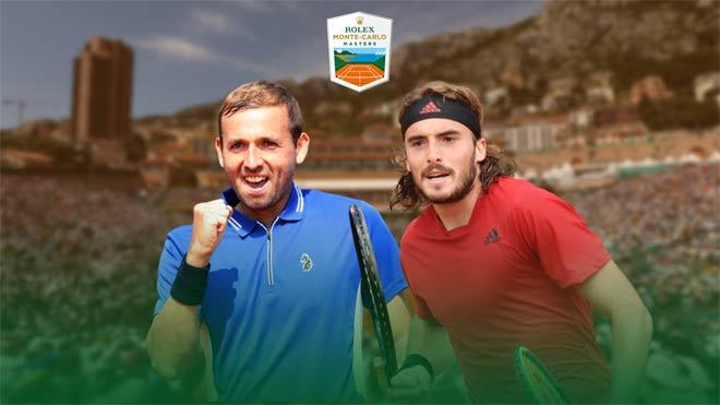 Video tennis Evans - Tsitsipas: Vùi dập đáng sợ, hiên ngang vào chung kết (BK Monte Carlo Masters) - 1