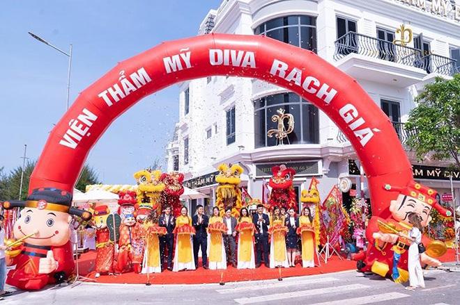 Viện thẩm mỹ DIVA khai trương cơ sở làm đẹp 5 sao tại Rạch Giá - 1