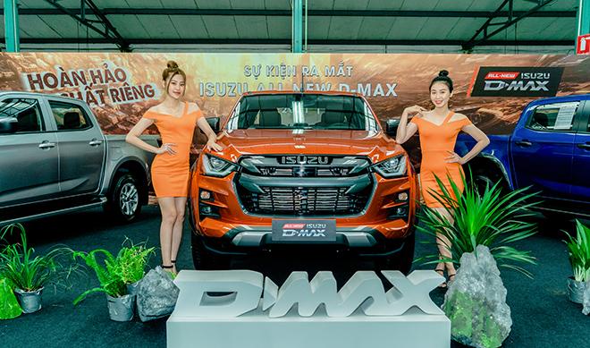 Xe bán tải Isuzu D-max mới ra mắt tại Việt Nam, giá từ 630 triệu đồng - 1