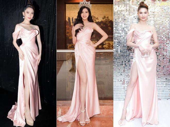 Hoa hậu Đỗ Thị Hà 'đụng hàng' loạt mỹ nhân Việt và vẻ đẹp khó trộn lẫn - 1