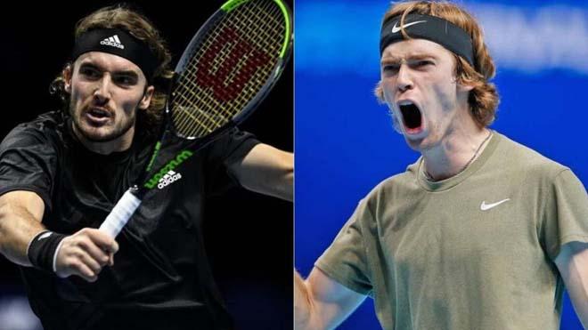"""Nhận định chung kết tennis Monte Carlo: So tài đỉnh cao, """"Hoàng tử"""" Tsitsipas mơ ngai vàng - 1"""