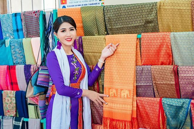 Hoa hậu Nguyễn Huỳnh Trang được mời tham dự lễ hội Chăm Ra-mư-wan - 1