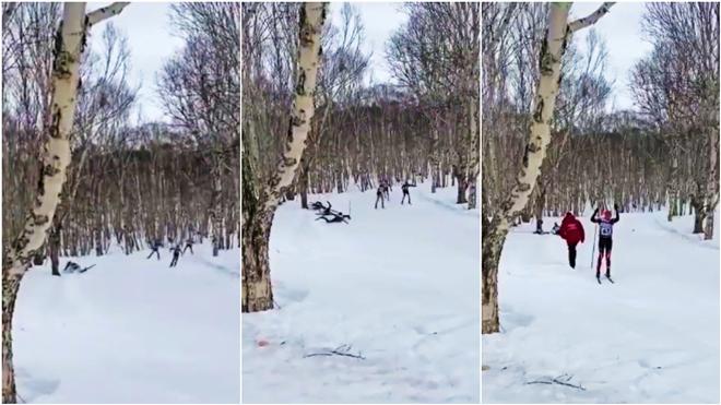 Kinh hoàng VĐV lao thẳng vào gốc cây bị thiệt mạng - 1