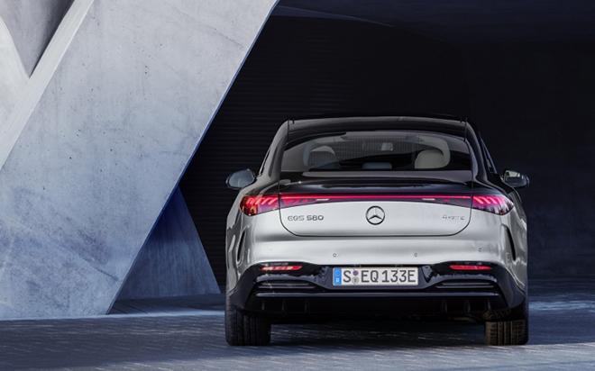 Xế điện Mercedes-Benz EQS ra mắt toàn cầu - 4