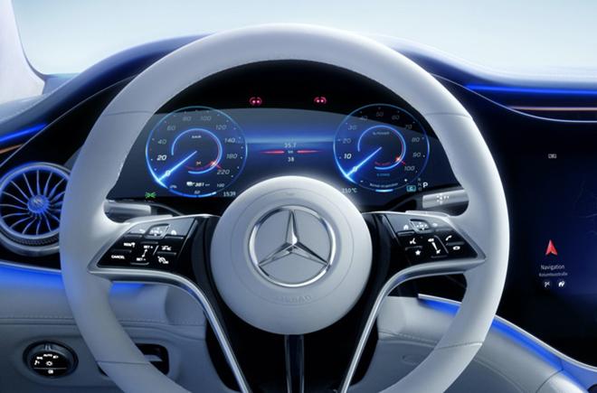 Xế điện Mercedes-Benz EQS ra mắt toàn cầu - 8