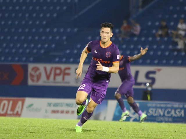 Đội hình tiêu biểu vòng 10 V-League: Xuân Trường sát cánh Trọng Hoàng, Tiến Linh - 1