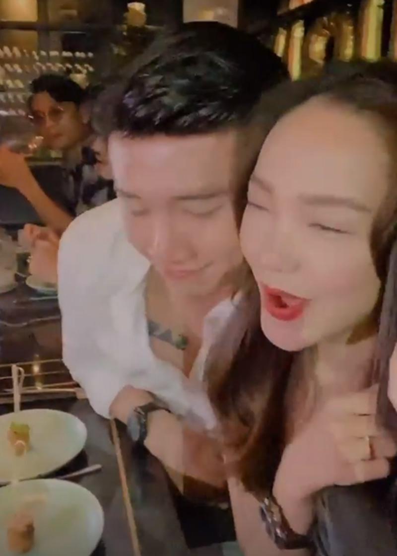 """Minh Hằng lên tiếng khi lộ ảnh ôm hôn """"Vua phim truyền hình"""" có nhà 35 tỷ - 1"""