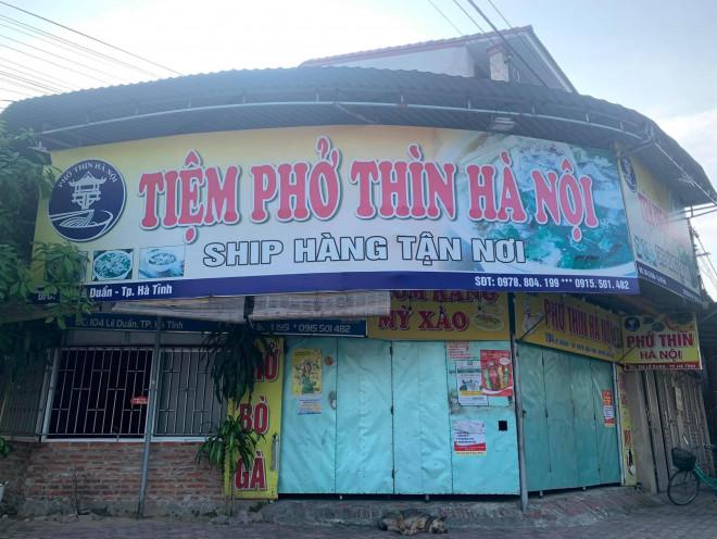 Dịch chồng dịch: Nhiều quán phở, ki ốt kinh doanh thịt bò, lợn ở Hà Tĩnh phải đóng cửa - 1