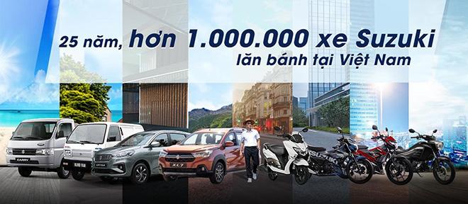 25 năm, hơn 1 triệu xe Suzuki lăn bánh tại Việt Nam - 2