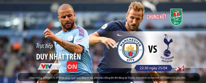 Lịch thi đấu chung kết Cúp Liên Đoàn Anh 2020/2021: Tottenham đấu Man City - 1