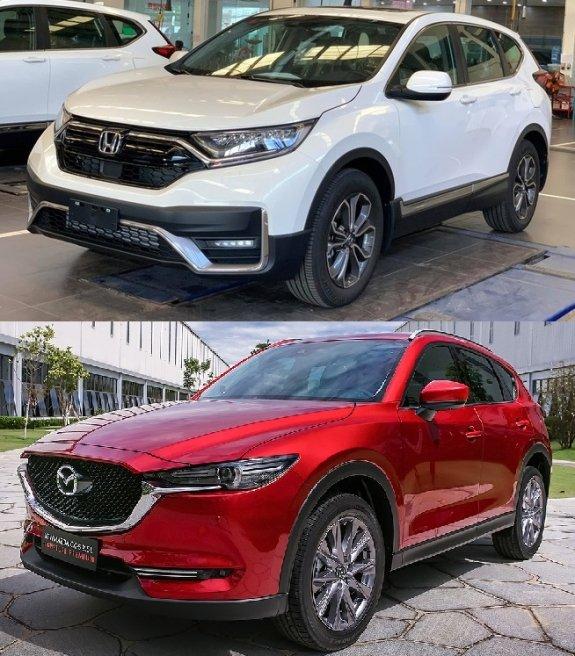 Mazda CX-5 vs Honda CR-V: Tầm giá 1 tỷ đồng bạn thích trẻ trung hay điềm đạm? - 2