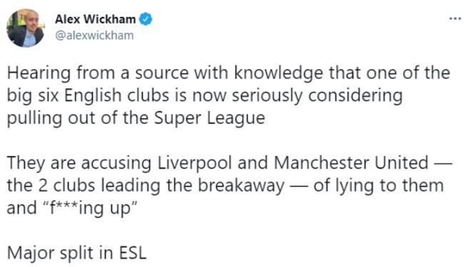 """Ngoại hạng Anh cực nóng: Man City tính bỏ Super League vì bị MU """"lừa dối"""" - 1"""