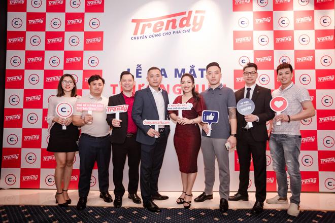 Sự kiện ra mắt thương hiệu Trendy - nguyên liệu chuyên dùng cho pha chế - 1