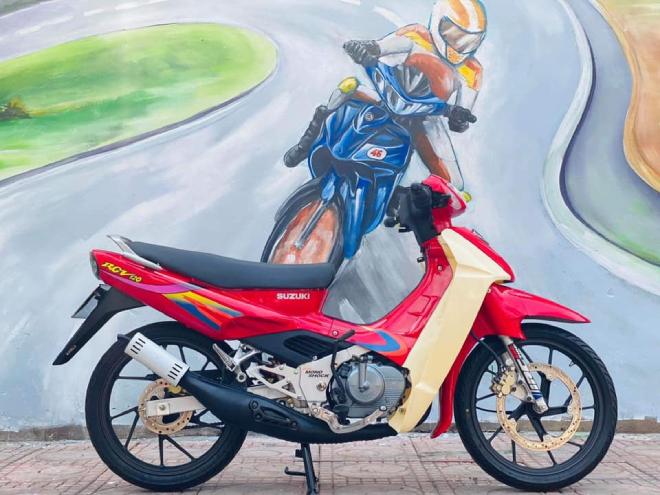 """Suzuki Xì po với mác """"xe kẻ cướp"""" và ác mộng đường phố một thời - 1"""