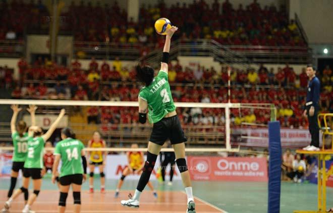 Thanh Thúy 1m93 bùng nổ, VTV Bình Điền vô địch cúp bóng chuyền Hùng Vương - 1