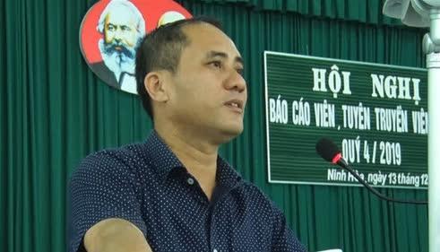 Nóng: Bí thư phường ở Khánh Hòa bị đâm tử vong - 1
