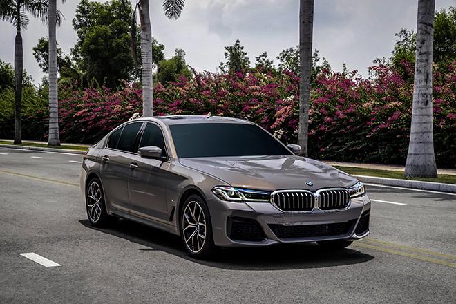 Giá lăn bánh các phiên bản BMW 5-Series vừa được ra mắt - 4