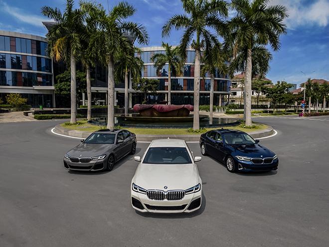 Giá lăn bánh các phiên bản BMW 5-Series vừa được ra mắt - 1