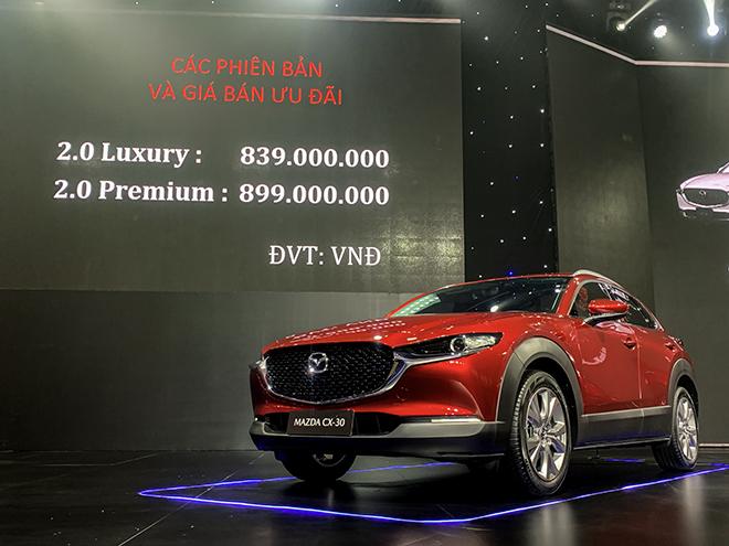 Giá lăn bánh Mazda CX-3 và CX-30 vừa ra mắt, rẻ nhất 629 triệu đồng - 7