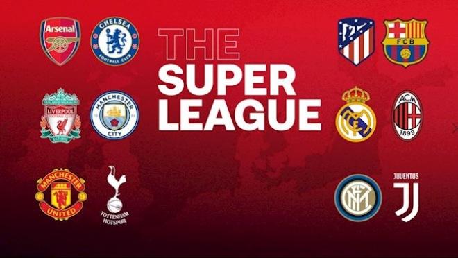 """Super League bị """"xóa sổ"""": Siêu giải đấu tỷ đô và 72h náo loạn châu Âu - 1"""