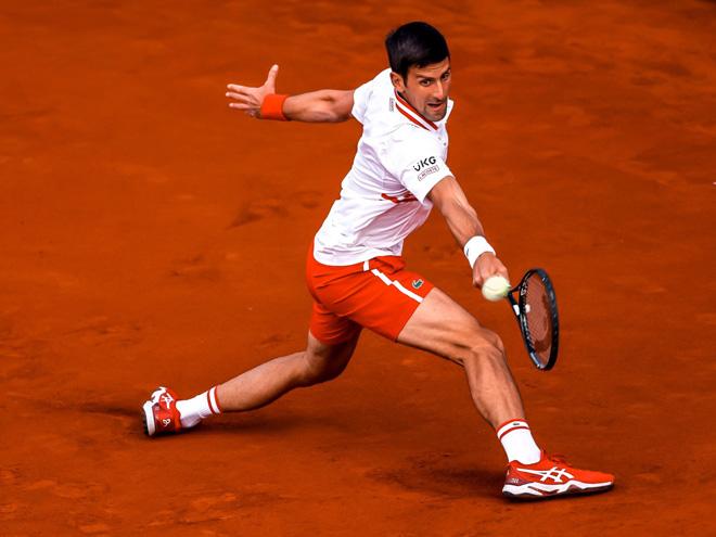 Video tennis Djokovic - Kwon Soon Woo: 70 phút chóng vánh, đẳng cấp lên tiếng - 1