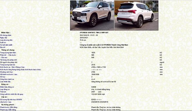 Đại lý Hyundai nhận cọc SantaFe bản nâng cấp tại Việt Nam - 5