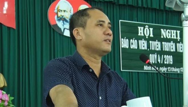 Bí thư phường ở Khánh Hòa bị đâm chết: Tạm giữ nghi phạm là cán bộ công an - 1