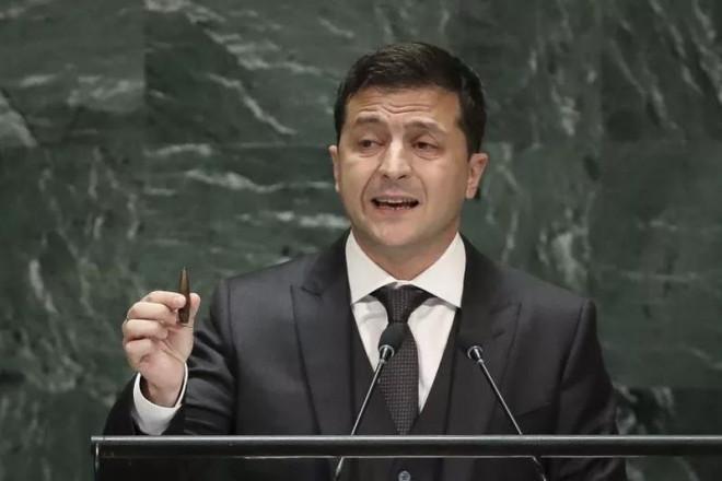 Tổng thống Zelenskiy: Ukraine sẽ 'chiến đấu tới cùng' với Nga - 1