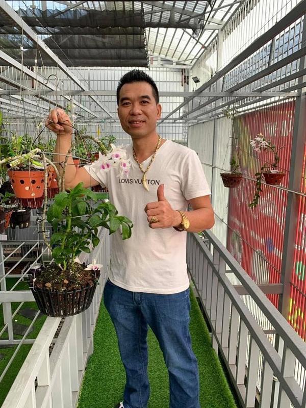 Nghệ nhân Phan Tuấn Đạt và hành trình đam mê loài hoa vương giả - 1