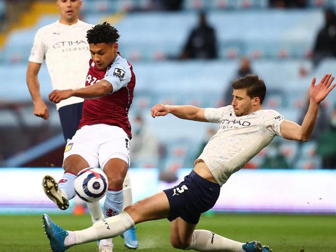 Video Aston Villa - Man City: Kịch bản khó tin, 2 thẻ đỏ gây sốc - 1