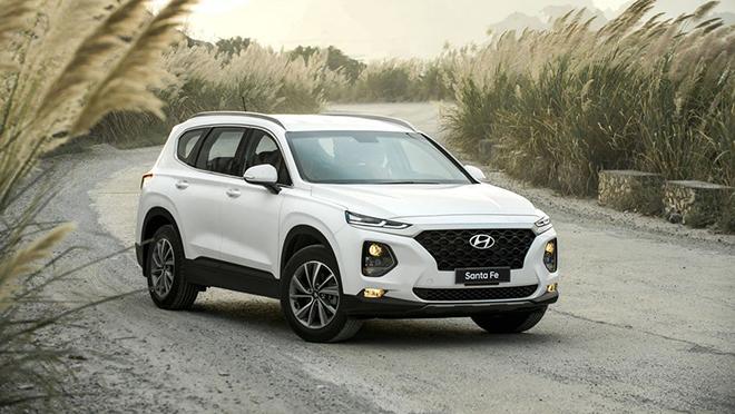 Đánh giá nhanh Hyundai Santa Fe 2.4L máy xăng, giá 995 triệu đồng - 1
