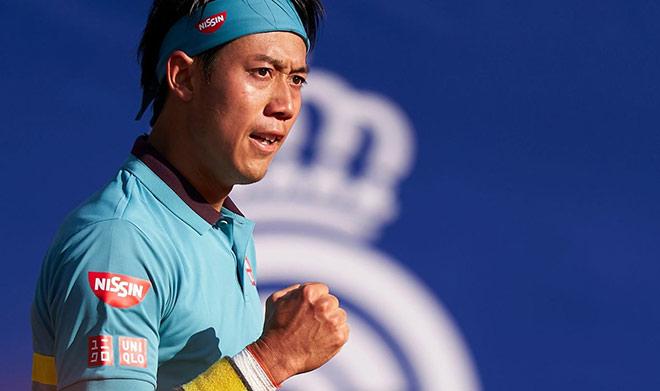 Nóng tennis Barcelona Open: Nishikori thắng sau 3 set, đặt vé đấu Nadal - 1