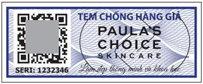 1 triệu sản phẩm Paula's Choice được dán tem chống giả tuyệt đối - 1