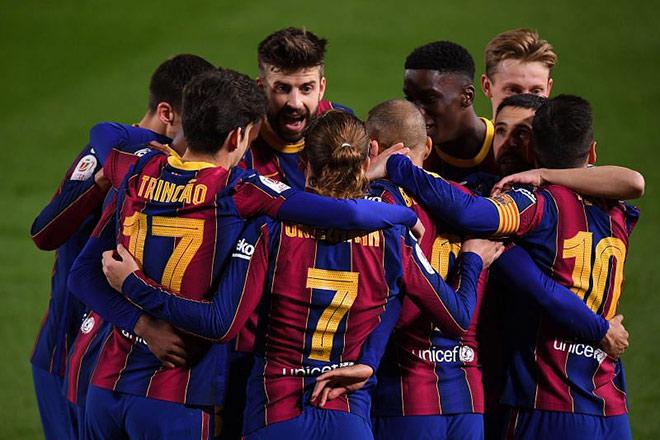 Gay cấn bảng xếp hạng La Liga: Barca thua Siêu kinh điển lại rộng cửa vô địch - 1