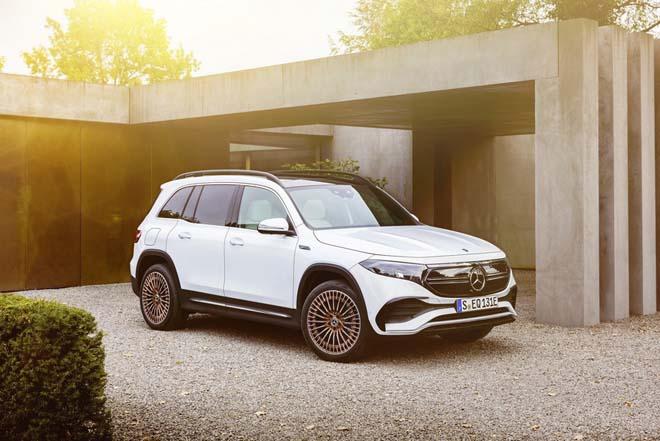 Mercedes-Benz EQB trình làng, SUV thuần điện sở hữu cấu hình 7 chỗ đầy tiện nghi - 4