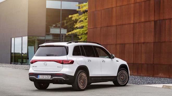 Mercedes-Benz EQB trình làng, SUV thuần điện sở hữu cấu hình 7 chỗ đầy tiện nghi - 3
