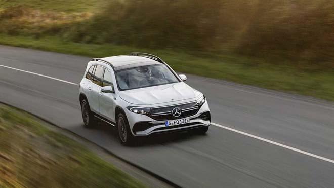 Mercedes-Benz EQB trình làng, SUV thuần điện sở hữu cấu hình 7 chỗ đầy tiện nghi - 9