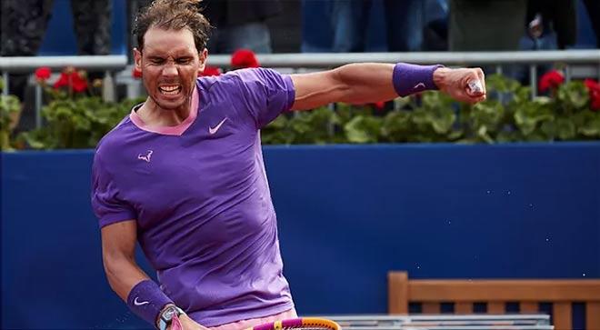 """Nadal lập kỷ lục ở Barcelona Open, cẩn thận đối thủ ở tứ kết đang """"vận hên"""" - 1"""