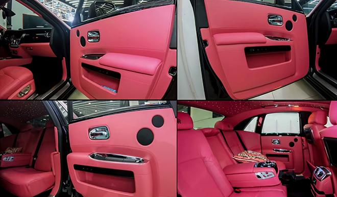 Rolls-Royce Ghost của Ngọc Trinh được làm mới toàn bộ nội thất - 11