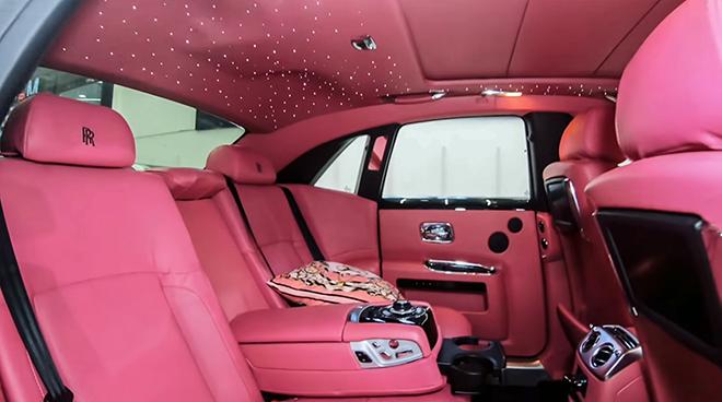 Rolls-Royce Ghost của Ngọc Trinh được làm mới toàn bộ nội thất - 12