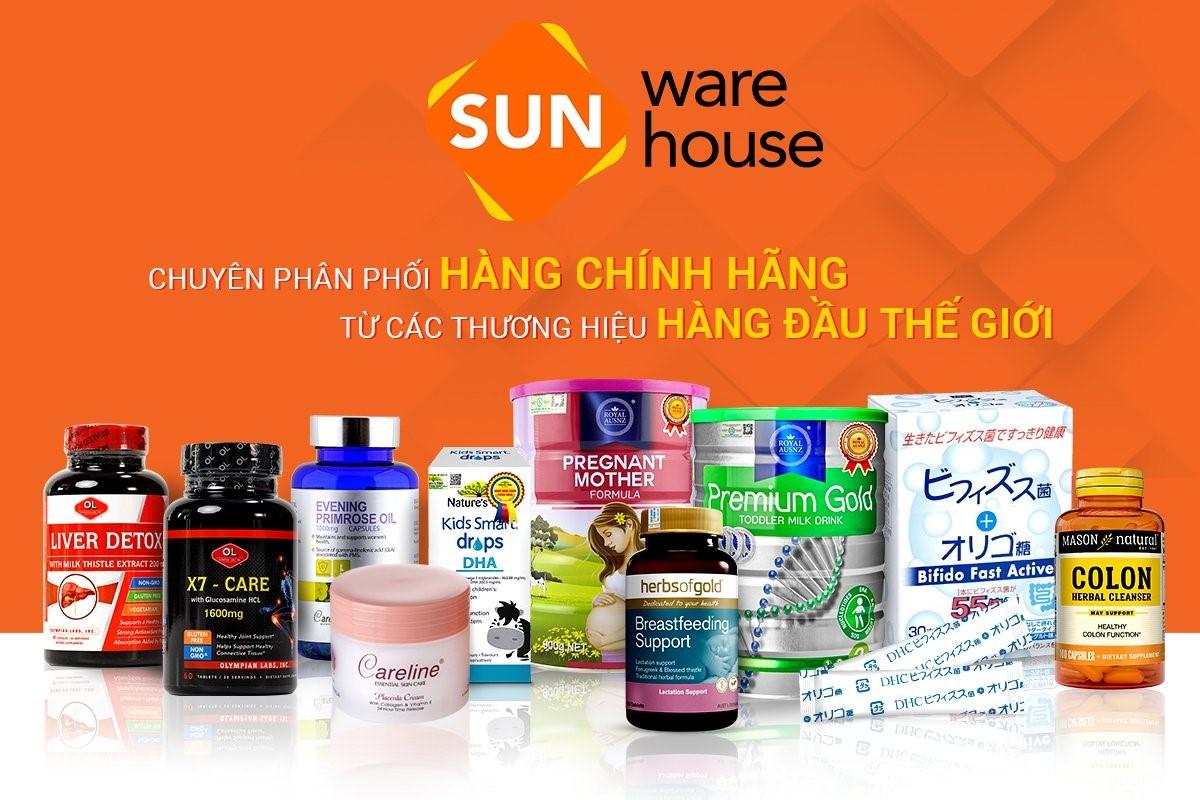 Sun Warehouse và thông điệp bán hàng chính hãng - 1