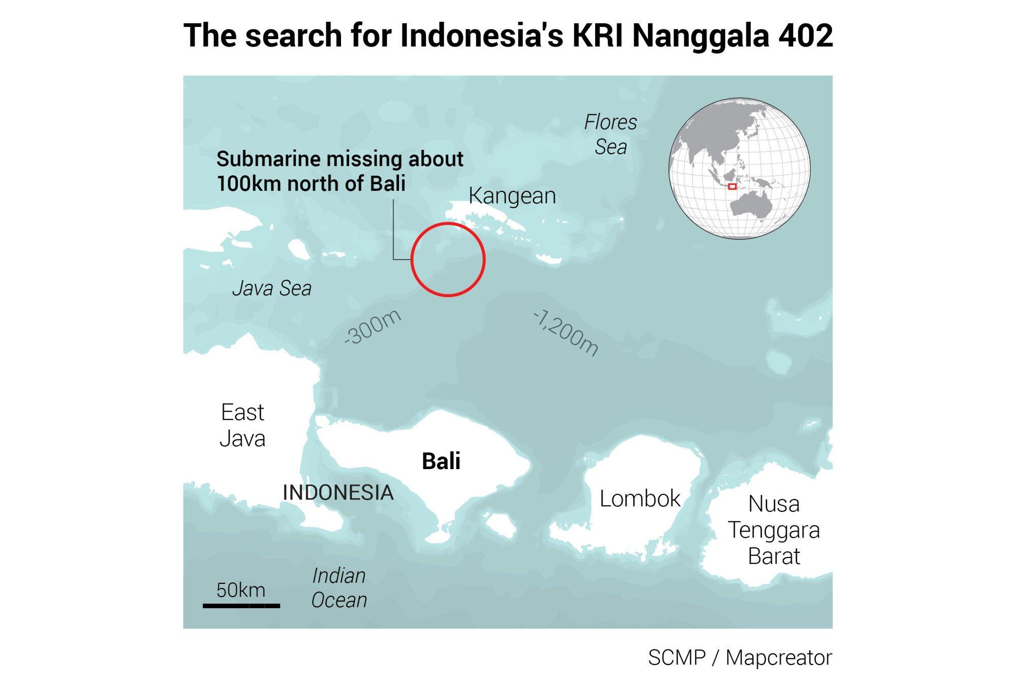 Tàu ngầm Indonesia mất tích: Chuyên gia bàn về lượng oxy cho 53 người thở - 1