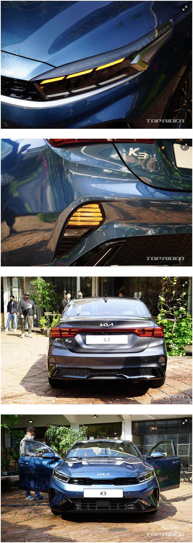 Ảnh thực tế Kia Cerato 2021, sedan hạng C có giá quy đổi từ 359 triệu đồng - 15