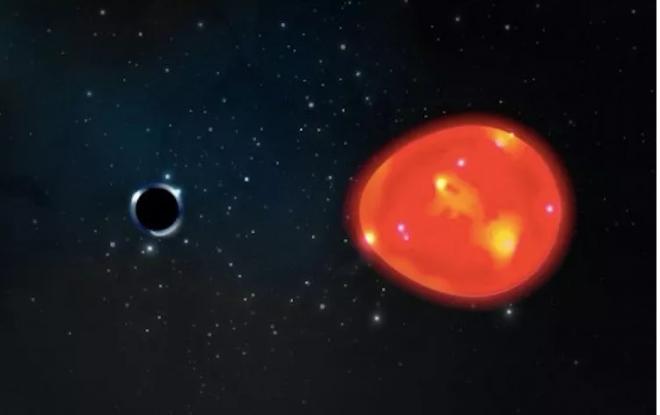 Phát hiện lỗ đen gần Trái Đất nhất, gấp 3 lần Mặt Trời - 1