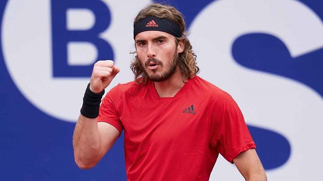 Video tennis Tsitsipas - Sinner: 2 set chóng vánh, chung kết vẫy gọi (Bán kết Barcelona Open) - 1