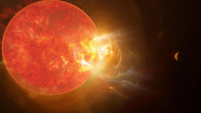 """Hành tinh có sự sống gần chúng ta nhất vừa trải qua """"ngày tận thế""""? - 1"""