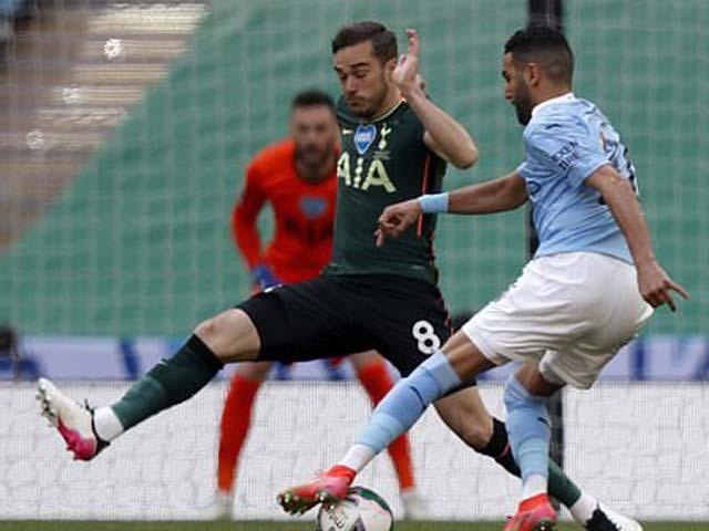 Trực tiếp bóng đá Man City - Tottenham: Kết thúc vỡ òa (Hết giờ)