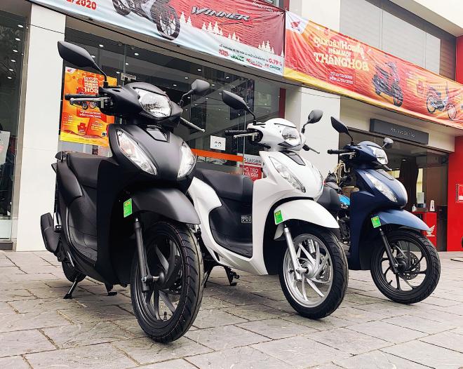 Giá xe Honda SH tăng phi mã, Vision vượt mốc 40 triệu đồng - 1