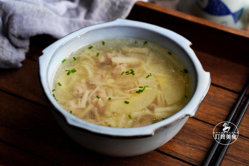 Nấu canh nấm thịt heo nhớ thêm loại quả này, nước sẽ ngọt thanh, bổ dưỡng vô cùng - 1